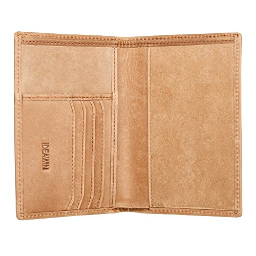 IDEAWIN Travel Passport Wallet Passport Holder RFID Block Leather Passport Cover by IDEAWIN (Image #1)