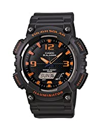 Casio Men's AQS810W-8AV Casio Tough Solar Power Analog Watch