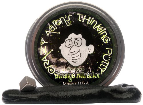 Crazy Aarons Thinking Putty - Super Magnetic Strange Attractor