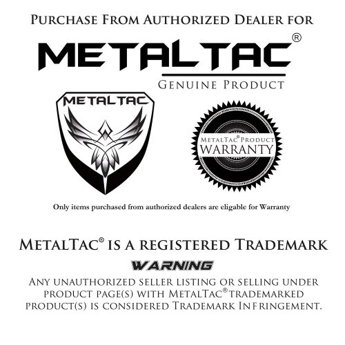 MetalTac 500 Rounds M4 / M16 Airsoft Gun Magazine High Capacity Long Magazine Metal Mag by MetalTac