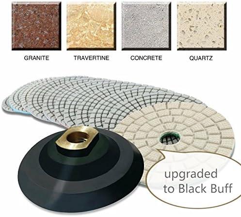3 inch 3 X Grit 100 Diamond Polishing Pad Granite Marble concrete Floor renew