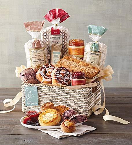 Wolferman's Sympathy Gift Basket