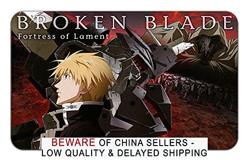 Broken Blade Anime Stylish x Playmat Mousepad (24 x Stylish 14) Inches [MP] Broken Blade-3 a023b1