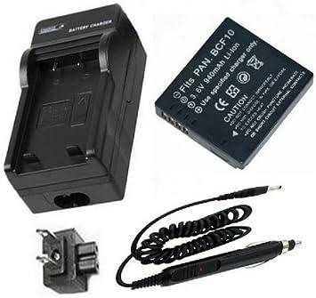 Cga-s//106b Batería Para Panasonic Lumix Dmc-fh20 Dmc-fh3