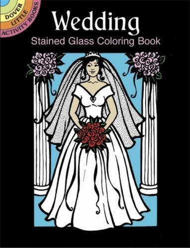 Wedding Stained Glass Coloring Book (Dover Stained Glass Coloring Book) by Pat Stewart - Mall Dover Shopping