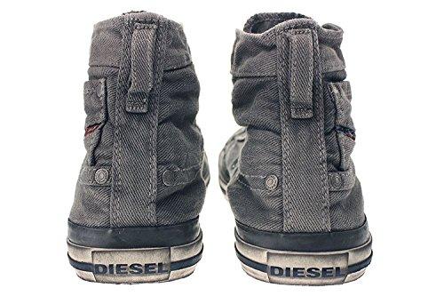 Diesel Eksponering 1 Y00023 Ps752 Mænd Sneaker Grå siGDUurNN4