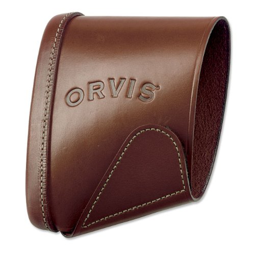 Orvis Leather Recoil Sleeve and Pad, Brown, Medium by Orvis