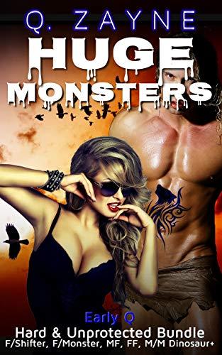 Huge Monsters—Hard & Unprotected Bundle: Halloween Retro LGBT + M/F Tentacle