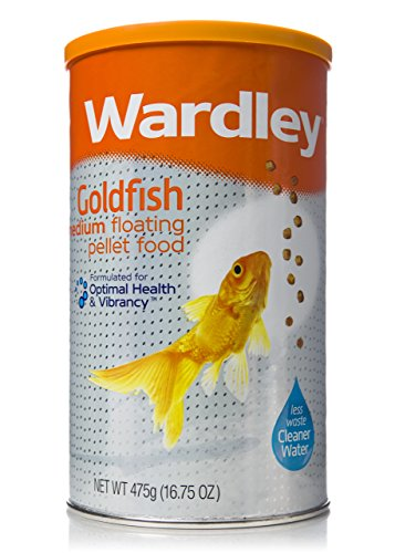 Wardley Premium Medium Floating Goldfish Food Pellets - 16.75oz ()