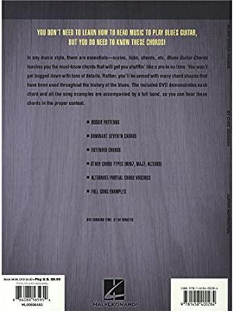 Amazon Chad Johnson Blues Guitar Chords Partitions Dvd