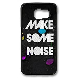 iCustomonline Make Some Noise Protective Case For Samsung Galaxy S6 Black