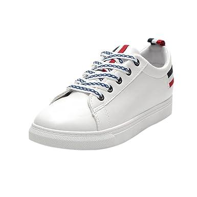 Herbst Dame, Groß, Einzelne Schuhe, Dicke, Kleine, Weiße Schuhe, Schwarz, 36
