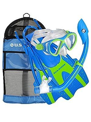 U.S. Divers Youth Buzz Junior Snorkeling Set