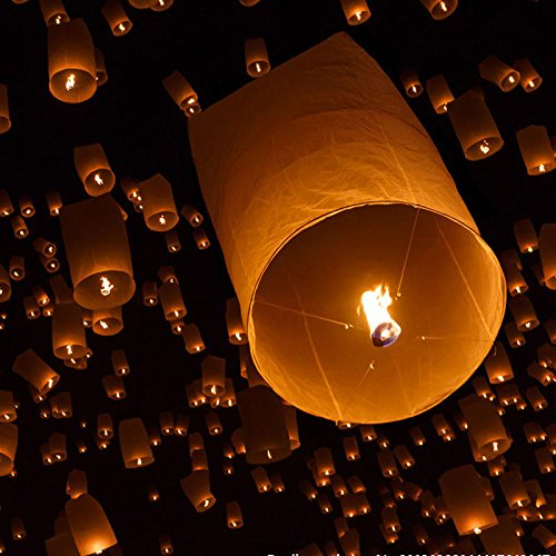 Teekland-Fire-Sky-Chinese-Paper-Flying-Wishing-Lantern-Lamp-Candle-Party-Wedding-Wish-White-Kongming-Wish-50-Piece