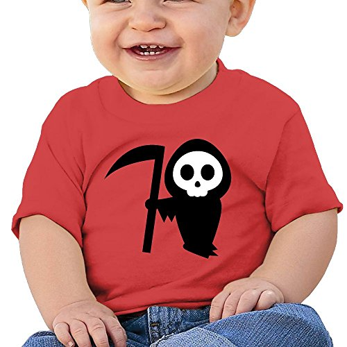 YYGOODS Halloween Pumpkin Stencils Witch Christmas Baby's Cute Round T-shirt Shirts Short Sleeve Tee