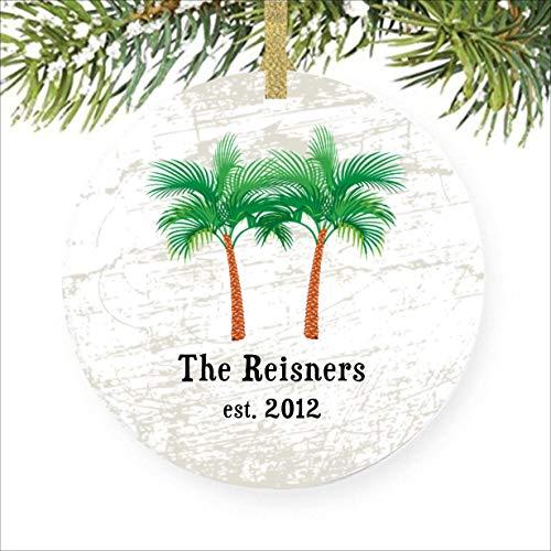 SheilaNelly Palm Tree Ornament Ocean Ornaments Nautical Ornament