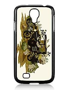2014 Latest Home Sweet Home Cute Samsung Galaxy S4 I9500 TPU Black Phone Case