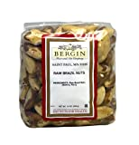 Bergin Nut Company Brazil Nuts Whole Raw, 16-Ounce Bags (Pack of 2)