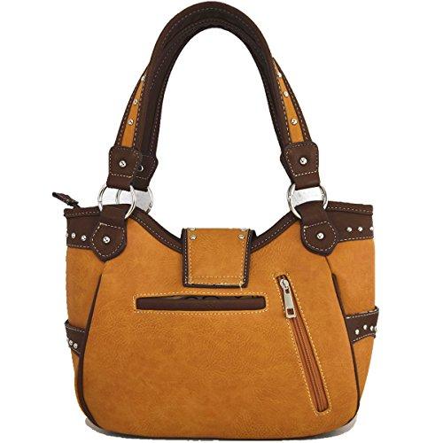 Bohemia Bedding Blancho brown Llevar Oculto Bag Mujeres xfqTqPC