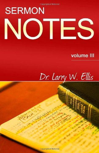 Sermon Notes (Volume III) PDF ePub fb2 ebook