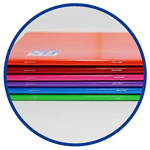 Pack de 10 libretas grapadas de tapa blanda Oxford Classic 100101228 A4