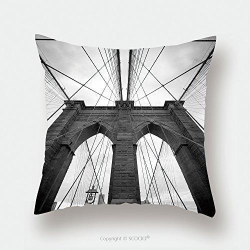 Custom Satin Pillowcase Protector Black And White Upward