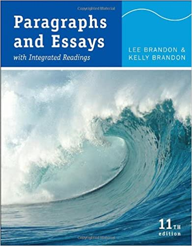 paragraphs essays lee brandon At a glance: paragraphs by lee brandon starting at $099  guides you through the process of prewriting and writing paragraphs and optional short essays in .