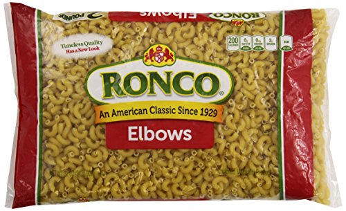 Ronco Elbow Macaroni 32- ounce (Pack of 12)