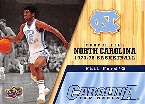 Phil Ford Basketball Card (North Carolina Tar Heels, 1974-1978) 2011 Upper Deck -
