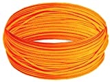 Bert's Custom Tackle Mast Line, 200-Feet/200-Pound, Neon Orange