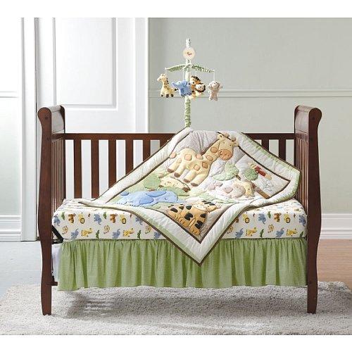 Gerber Cuddletime Sweet Safari - 4 Piece Bedding Set 22300412A-NE1-OSZ