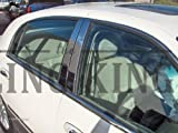 1998-2011 Lincoln Town Car Chrome Pillar Post Set