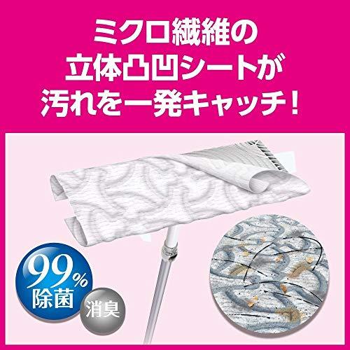 【Amazon.co.jp 限定】【まとめ買い】クイックルワイパー 床用掃除シート ドライシート 40枚入 × 3個