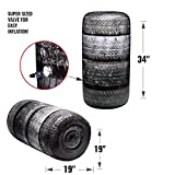 BUNKR Battle Zones Inflatable Tire Stack