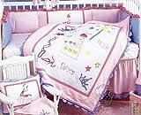 Kimberly Grant Wish Play Dance 4 Piece Crib Bedding Set
