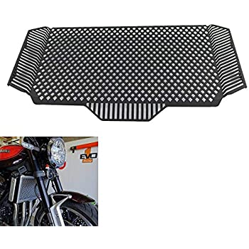 XX eCommerce Motorcycle Motorbike Black Radiator Guard Engine Grille Grill Cover Protector Water Cooler Coolant for 2018 Kawasaki Z900RS