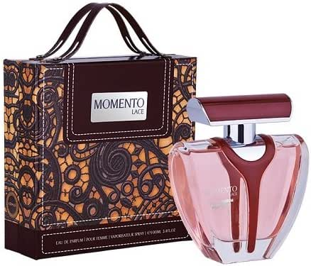 ARMAF LUXE MOMENTO LACE 3.4 EAU DE PARFUM SPRAY FOR WOMEN