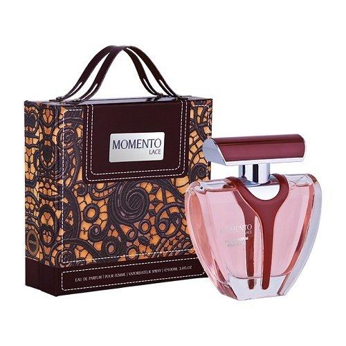 ARMAF LUXE MOMENTO LACE 3.4 EAU DE PARFUM SPRAY FOR WOMEN - Sterling Perfume