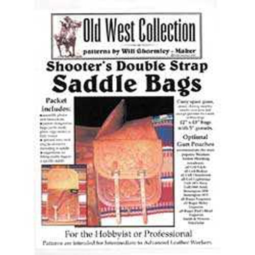 Shooter's Double Strap Saddlebags Pattern Pack (Patterns for Making Leather Saddlebags)