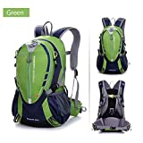 Gooteff Waterproof Hiking Backpack 25L with Chest Strap and Waist Strap Outdoor Bag