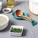 DOWAN Spoon Holder for Kitchen, Porcelain Spoon