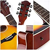 Acoustic Guitar, Sunburst Acoustic Guitar Beginner