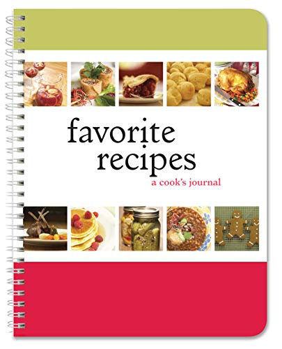(BookFactory Recipe Book/Recipe Journal/Recipe Notebook/Blank Cook Book - A Cook's Journal, 150 Total Pages, 75 Entries, 8