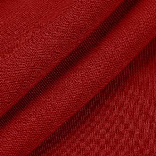 Classique Kanpola Women Red Col Manches Chemisier Chemise Longues noue Fleurs Taille Femme r0fFxqCn0