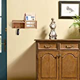 ChasBete Wall Shelf Mail Organizer for Entryway