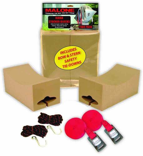 Malone Auto Racks Kayak Stacker Foam Block Kit (Slip Stacker)