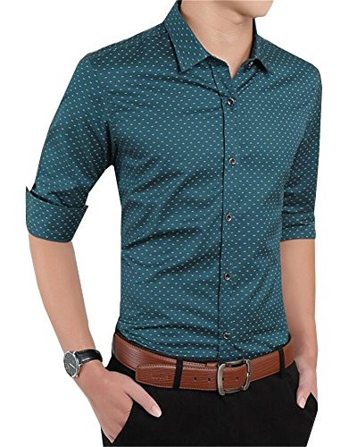 buy 100 cotton dress shirt - 8