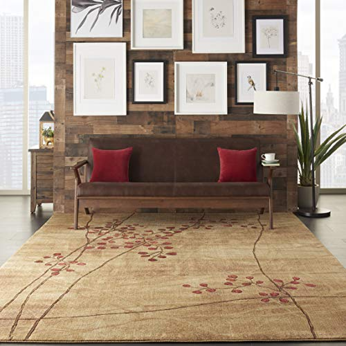 - Nourison Somerset (ST74) Latte Brown Area Rug, 9'6