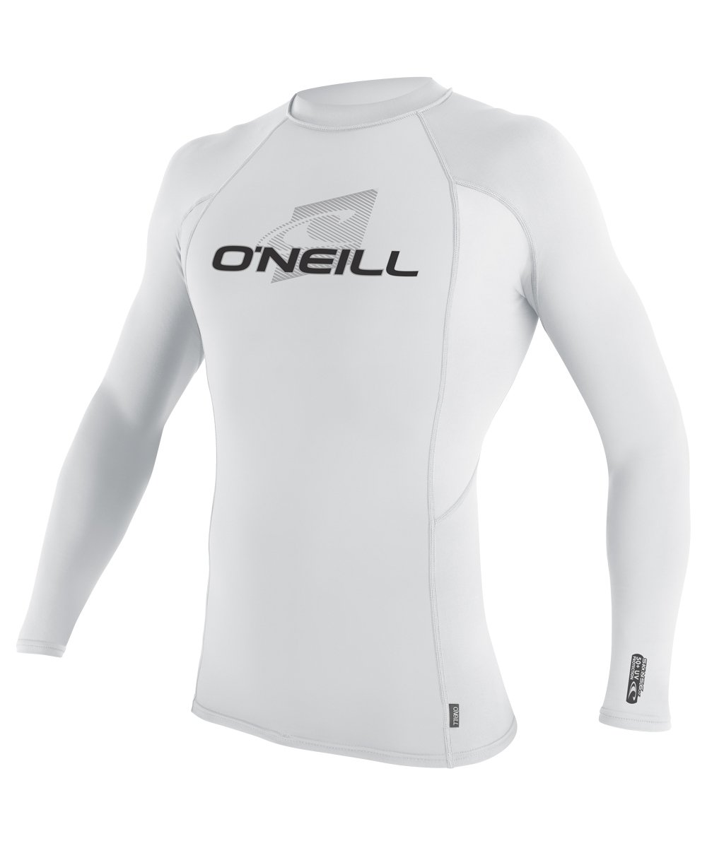 Galleon o 39 neill wetsuits uv sun protection mens skins for Mens long sleeve uv protection shirt