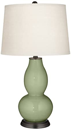 Majolica Green Double Gourd Table Lamp Amazon Com